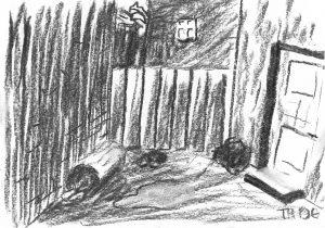 Alley sketch